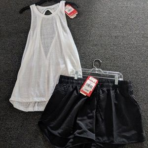 The North Face Size Large Outfit Shorts and Tank L